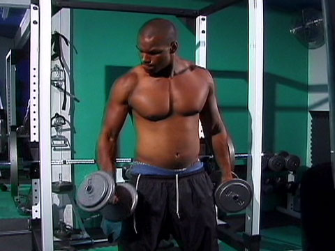 Ever wanted to see how our models get so buff? Drae is going to show you some of his work out in this solo video. Pumping iron for the cameras before pumping his dick with equal effort